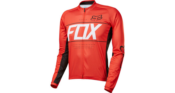 Fox Ascent - Maillot manga larga - rojo